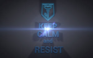 Ingress - Keep calm and resist - Resistance by emilniemi