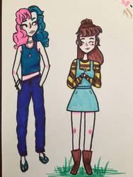 Random character designs