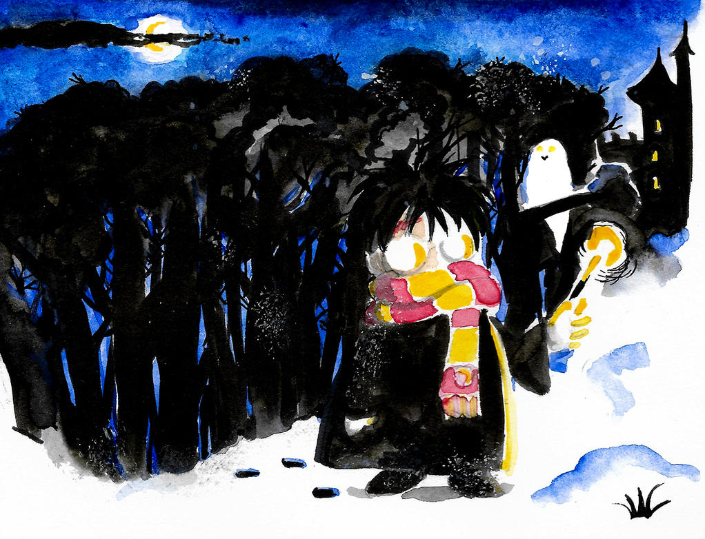 Harry Potter by night by pers-shime