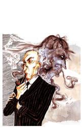 Le meilleur ennemi de Sherlock Holmes by pers-shime