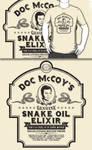 Doc McCoy's Genuine Snake Oil Elixir (Redbubble)