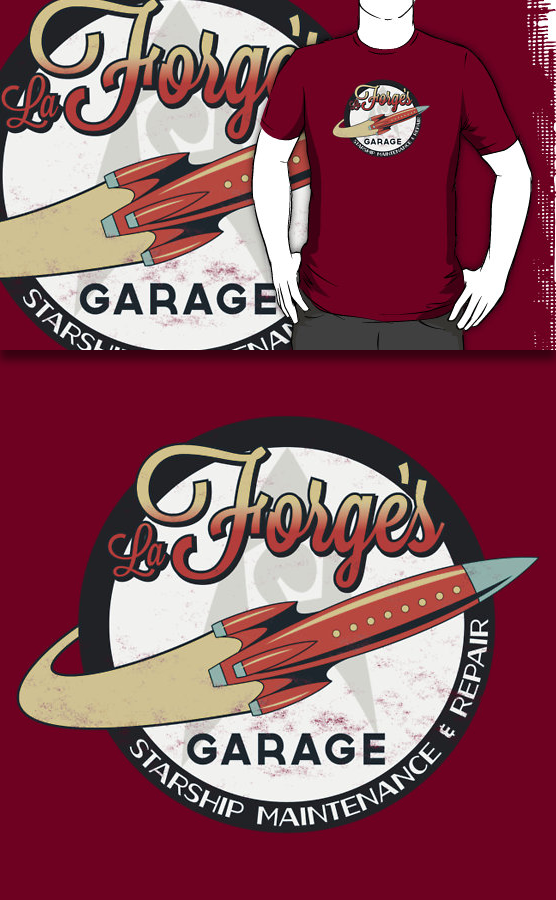 La Forge's Garage (Redbubble) by armageddon