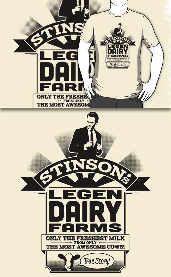 Stinson's Legen Dairy Farms (Redbubble) by armageddon