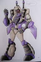 TFA Blitzwing. by dragongirl900