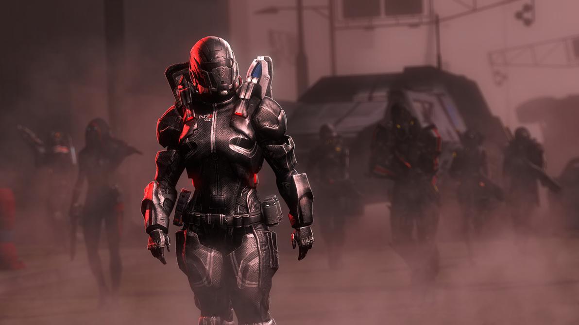 N7s In The Mist by lonefirewarrior