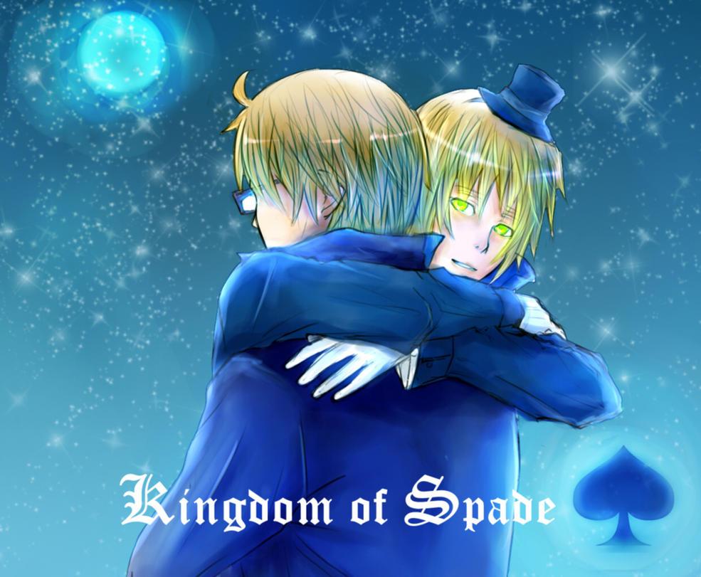 USUK Kingdom of Spade by takagi-tachibana