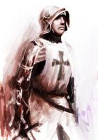 teuton knight by Nikuloki