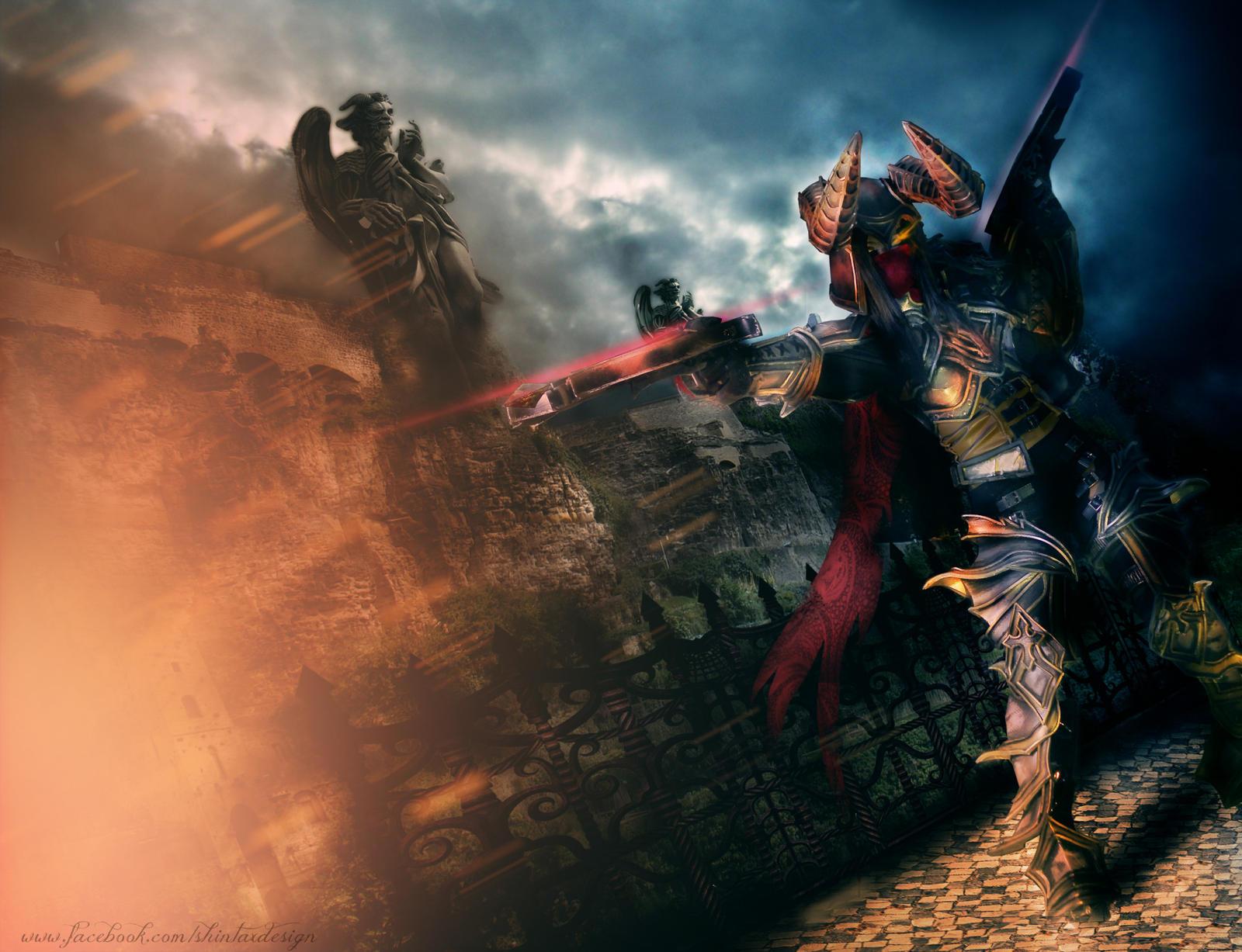 Demon Hunter from Diablo III by KRIZYOW