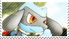 POP Series 6 |Riolu| Stamp by VathekFiend