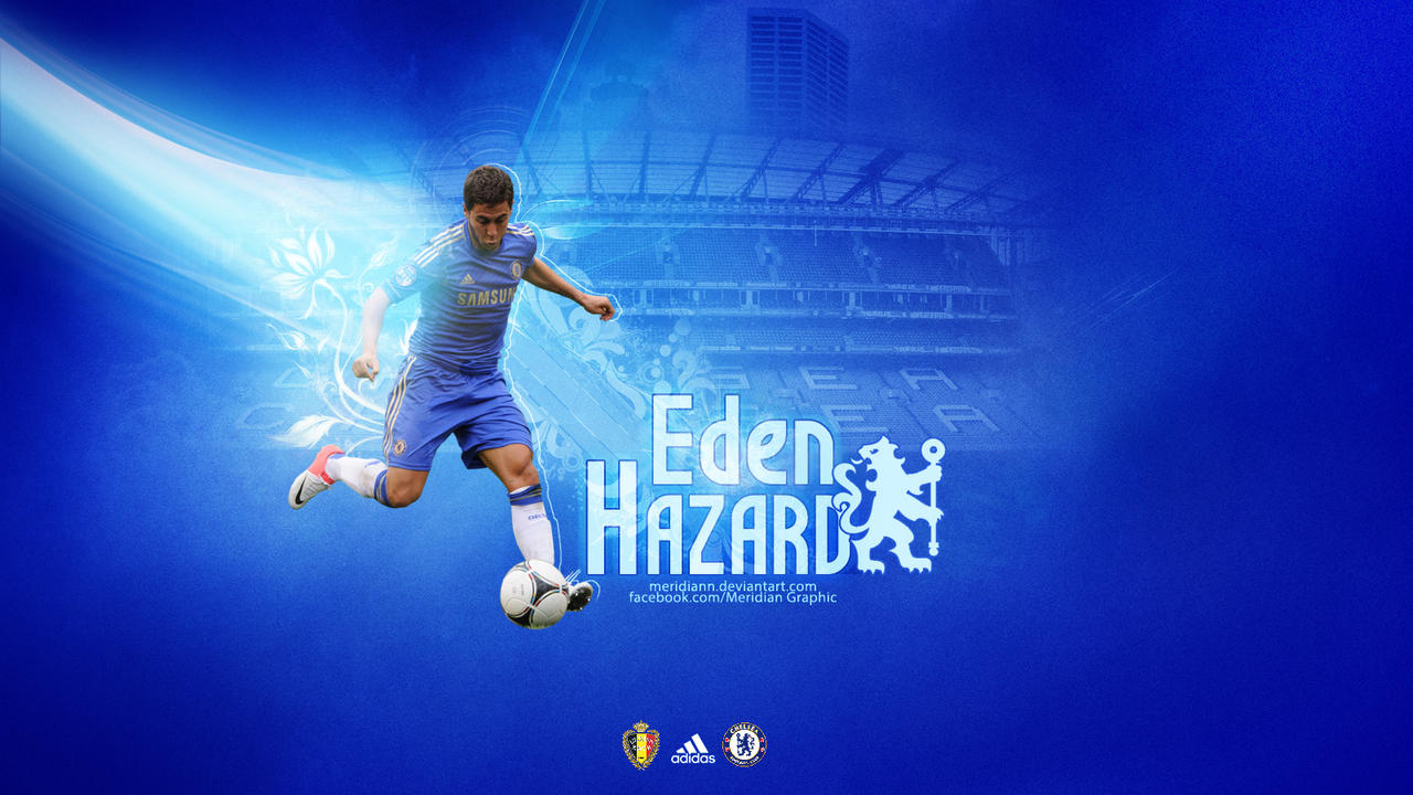 Eden Hazard by Meridiann