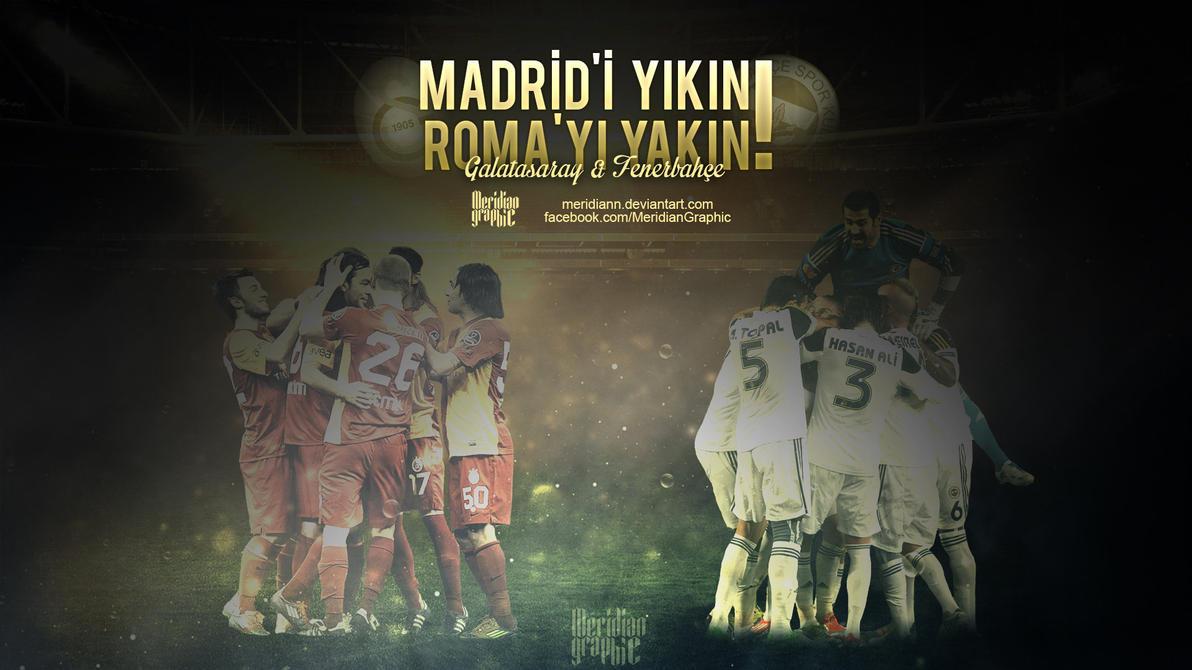 Galatasaray - Fenerbahce by Meridiann
