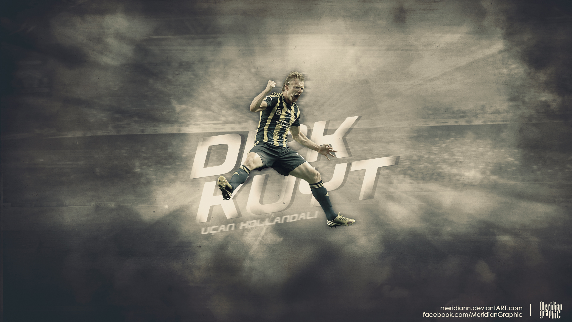 Dirk KUYT Wallpaper by Meridiann
