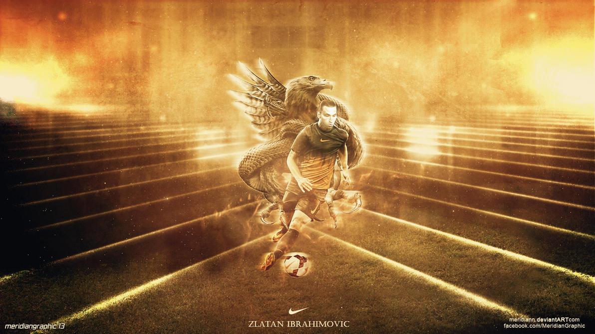 Zlatan Ibrahimovic by Meridiann