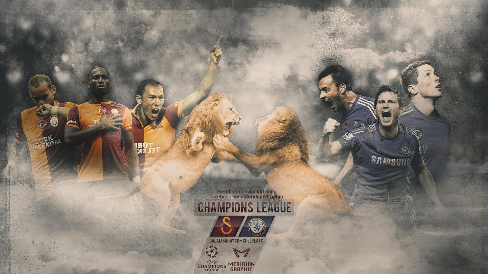Galatasaray SK - Chelsea FC by Meridiann