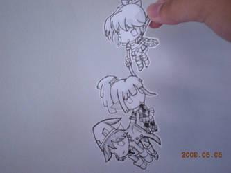 grand chase paper child by kaorininko