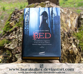 Red - Book Cover by BurakUlker
