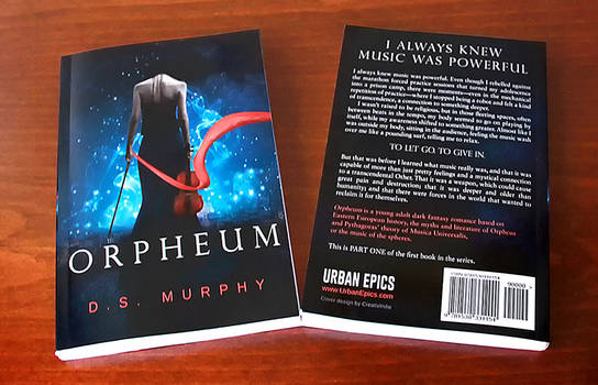 Book Cover ( Orpheum by D.S. Murphy )