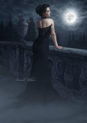 As lonely as a moon by BurakUlker