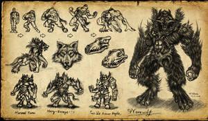 Werewolf by GP03D