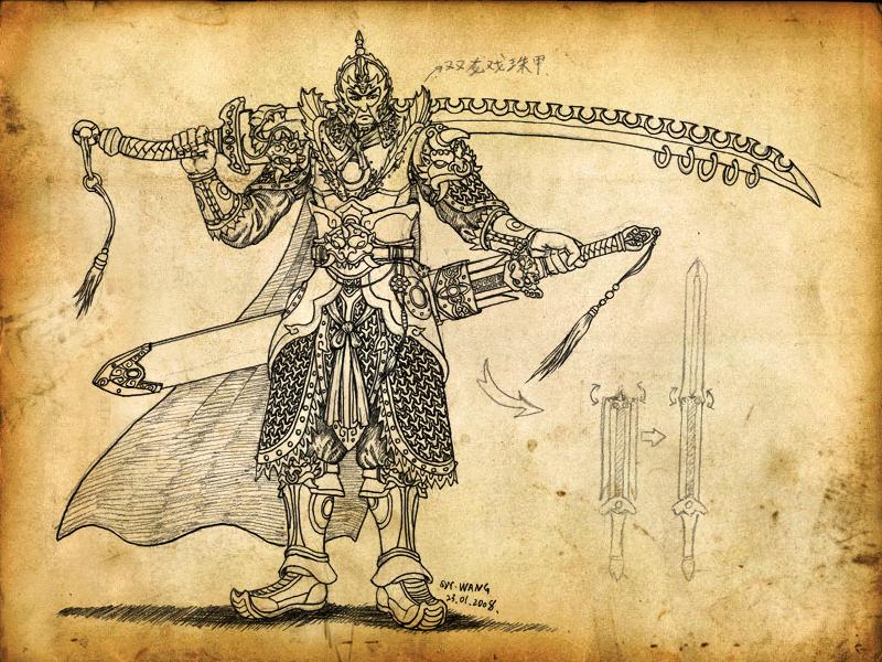 brave warrior by GP03D