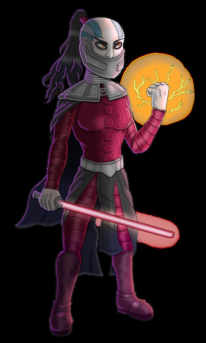 Darth Malic colour by Hippy282