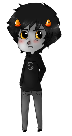 i need to stop drawing karkat by amberc8