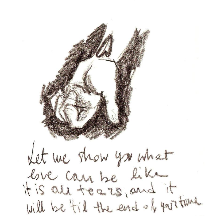 It's all tears by BowieOwie94