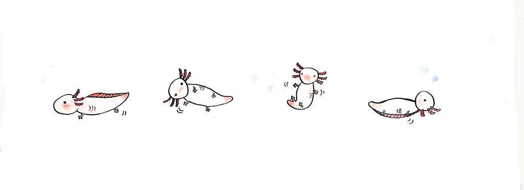 Axolotl Eyes by BowieOwie94