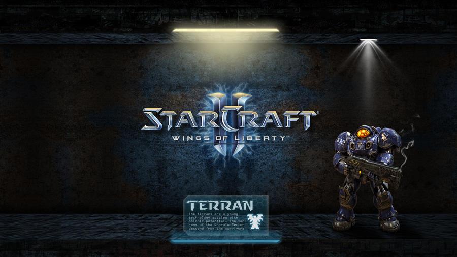 starcraft ii terran wallpaper - photo #17
