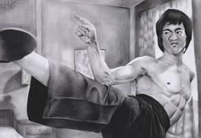 Bruce Lee by RafaSono