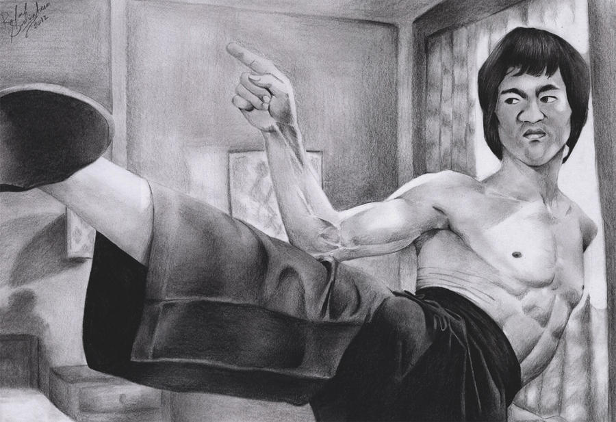 Bruce Lee by RafaSono