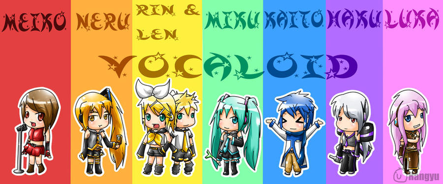 Anime Characters Named Rin : Vocaloid chibi by roxaslover on deviantart