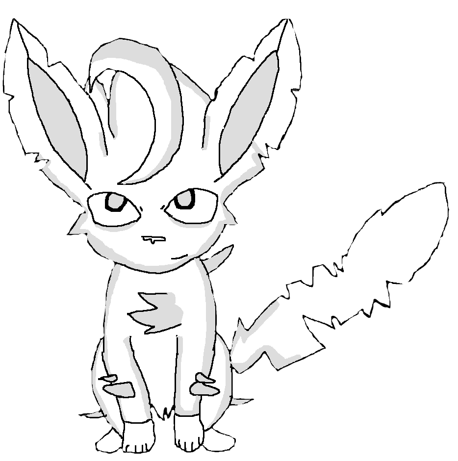 leafeon coloring pages - photo#21