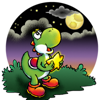Yoshi and the star by Pu3ppchen
