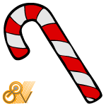 Candy Cane by GovectorZ