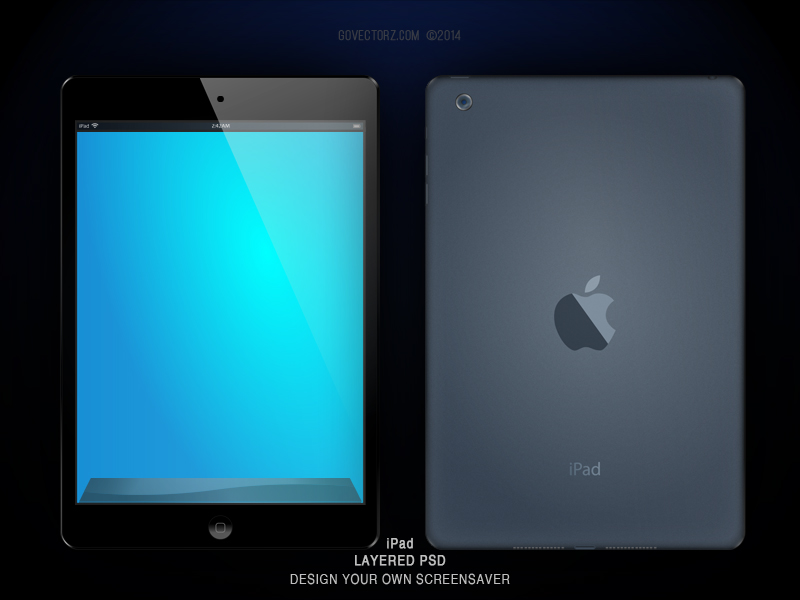 iPad Blank by GovectorZ