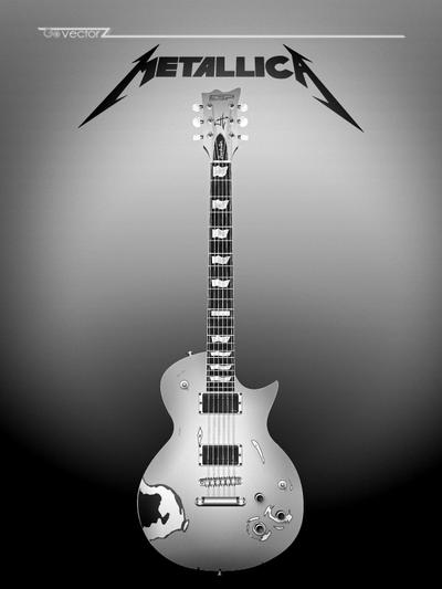 GovectorZ 1 0 ESP LTD James Hetfield Truckster Electric Guitar By