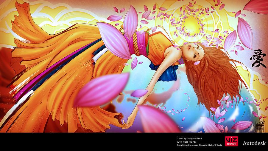 Love by Sleepinglion