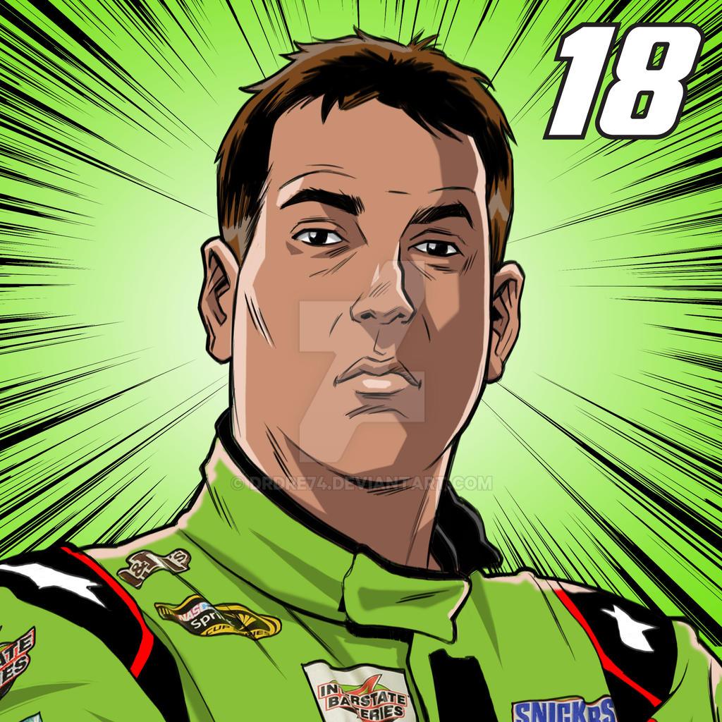 Nascar Wallpaper 2019: NASCAR Kyle Busch By Drdre74 On DeviantArt