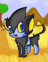 Luxray by chibitracy