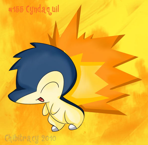 HGSS - Cyndaquil by chibitracy on DeviantArt Cyndaquil Wallpaper