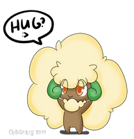 Whimsicott by chibitracy