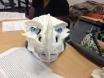 Even Moar Sculptering! - Frost dragon mask 2