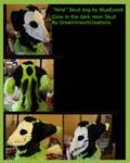Nine of Nine Skull K9 Fursuit Mask