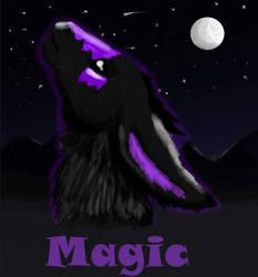 Magic the Dutch Angel Dragon commission by BlueEyes9