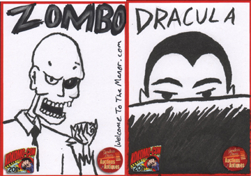 Kokamo-Con 2011 sketch cards by Andy-Korty