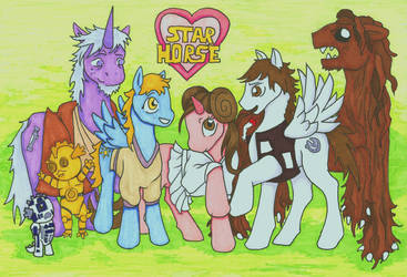 Star Horse by Allison-beriyani