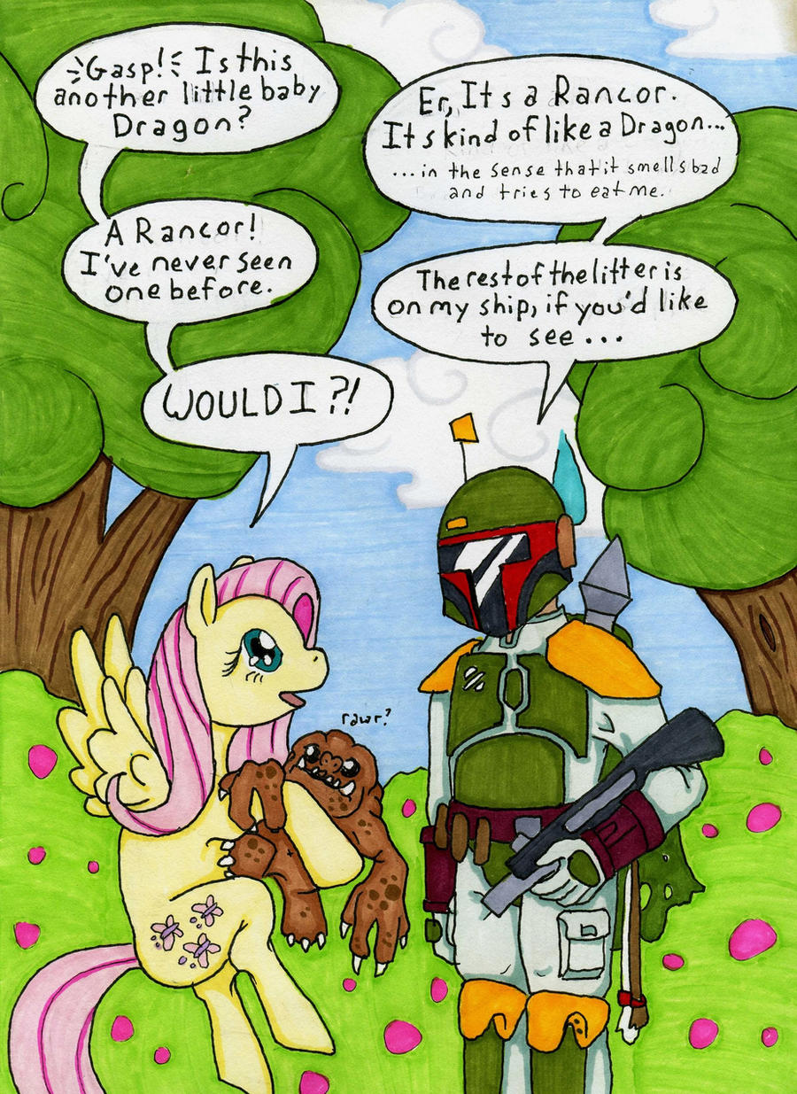 Boba Vs. Ponies 1 by Allison-beriyani