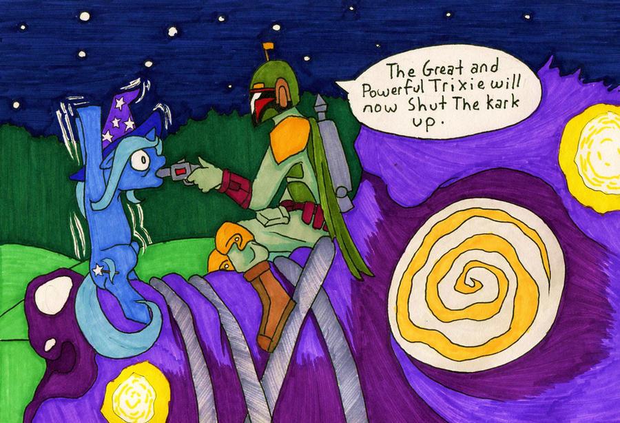 Boba Vs. Ponies 8 by Allison-beriyani