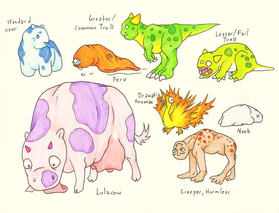 Internet Fauna by Allison-beriyani